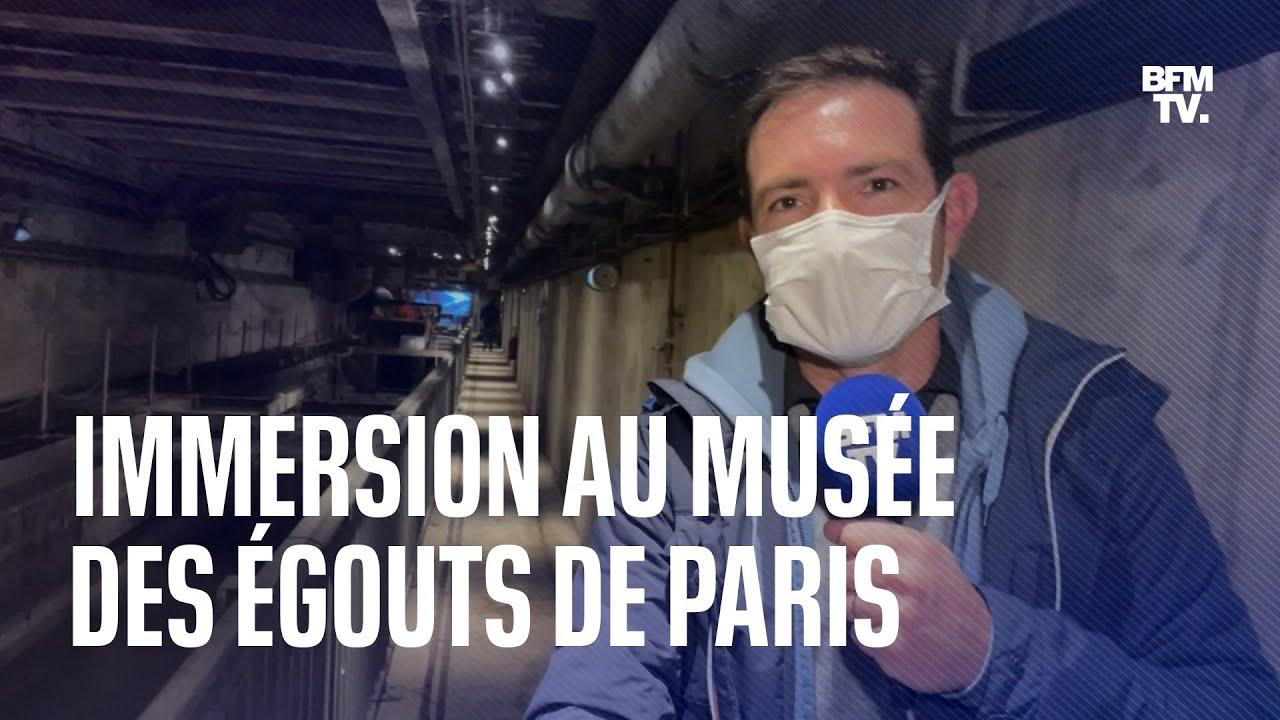 (Re)découvrez en avant-première le musée des égouts de Paris avant sa réouverture
