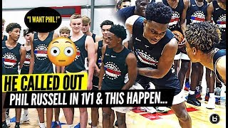 VASHON PG GETS CALLED OUT!! PHIL RUSSELL & CAM'RON FLETCHER RESPONDS IN KING OF THE COURT!