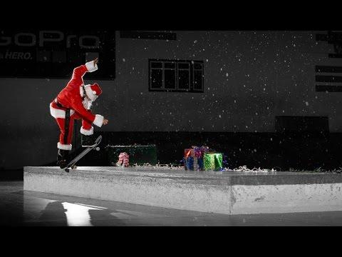 Ho Ho Ho-le Damn Ledge with Santa Puds
