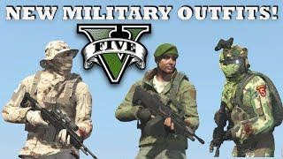 New Military Outfits In Gta 5 Videos
