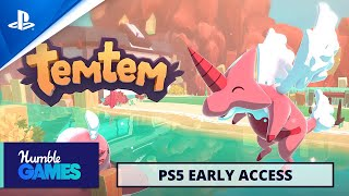PlayStation Temtem - Early Access Release Date Announcement   PS5 anuncio