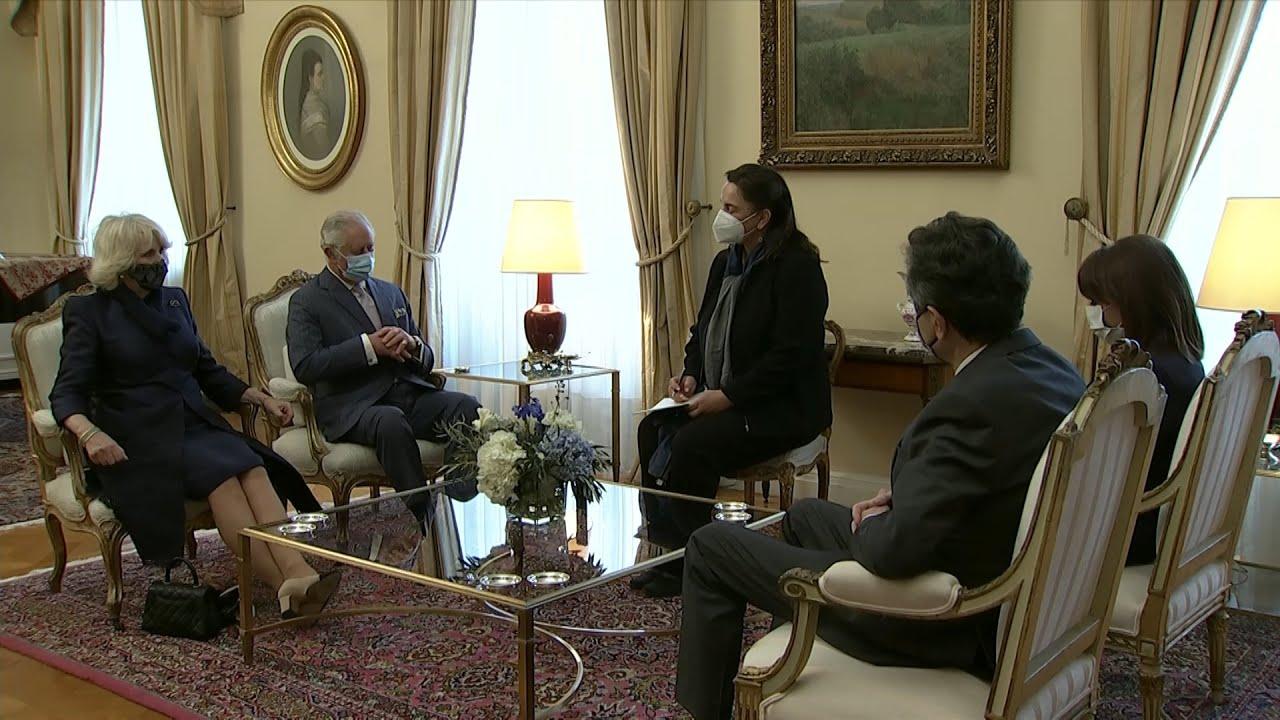 Συνάντηση Προέδρου της Δημοκρατίας με τον διάδοχο του βρετανικού θρόνου