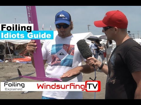 FOILING – Beginners GUIDE  – Antoine Albeau  – Windsurfing.TV