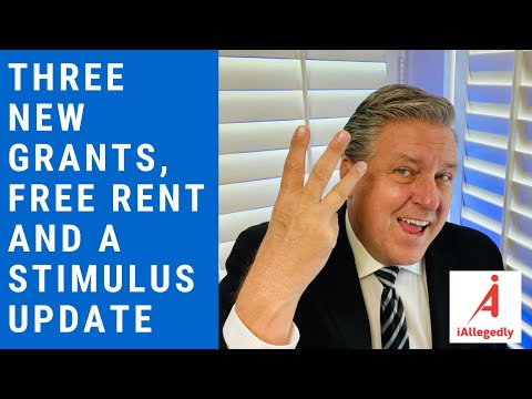 Three New Grants, Free Rent and a Stimulus Update