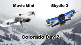 Flying Drones at 14°F in the Colorado Mountains ❄ Day 2