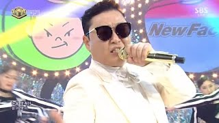 PSY   'New Face' 0514 SBS Inkigayo
