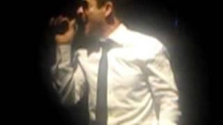 One Night & Joe's table dance - Joey McIntyre & Emanuel Kiriakou - Vegas 2/12/11