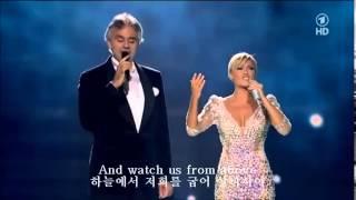 The Prayer기도문 -  Andrea Bocelli & Helene Fischer