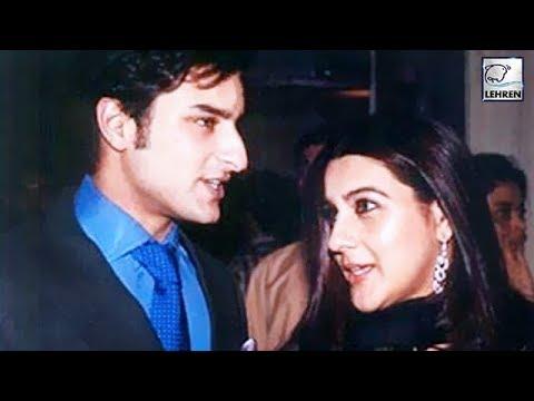 Birthday Special: When Saif Ali Khan Kissed Amrita