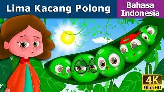 Lima Kacang Polong | Dongeng anak | Kartun anak | Dongeng Bahasa Indonesia