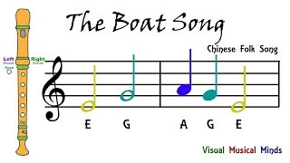 VMM Recorder Song 6: The Boat Song