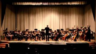 The Rufus King String Orchestra performs Away in a Manger