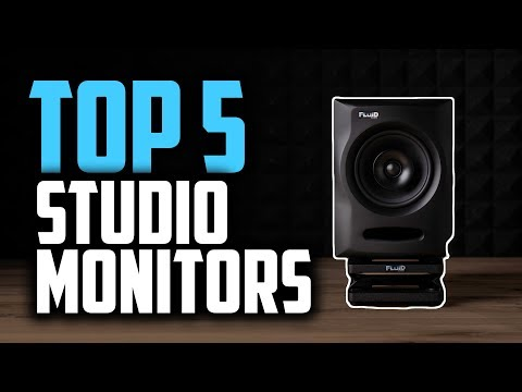 Best Studio Monitors in 2019 | For Professional Audio Production