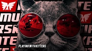 "Playing Skateboards | ""Playing with Kittens"" 