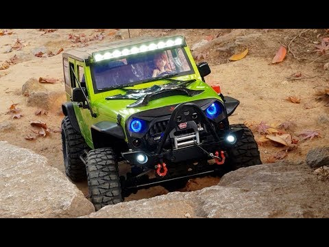 Rubicon On The Rocky Trails ( Car From Rc Play Ground )