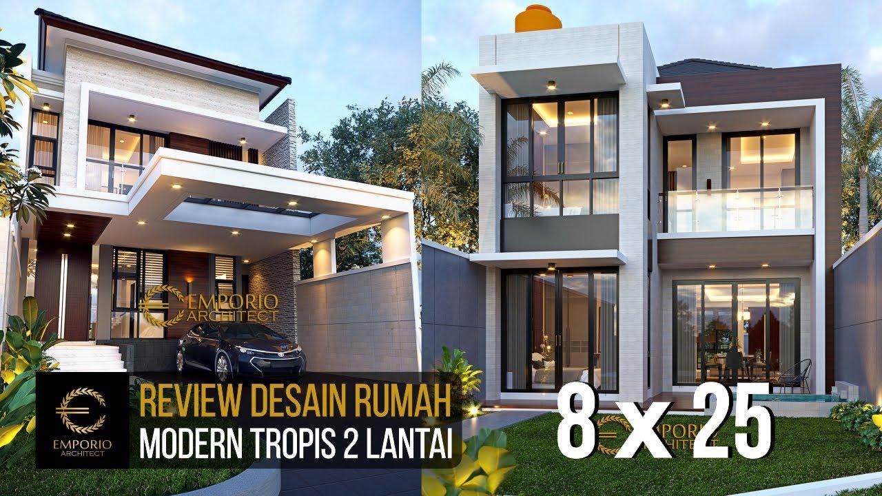 Video 3D Mr. Tunjung Modern House 2 Floors Design - Bekasi, Jawa Barat