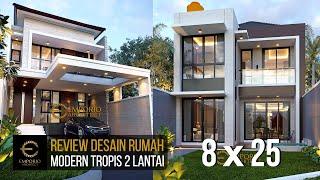Video Desain Rumah Modern 2 Lantai Bapak Tunjung di  Bekasi, Jawa Barat