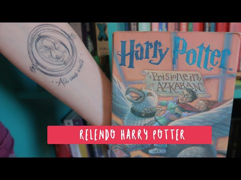(RE)LENDO HARRY POTTER E O PRISIONEIRO DE ASKABAN | Livros e mais #Vlog23