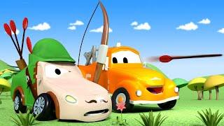 Autogaráž pro děti - Z Matta je Robin Hood - Tomova Autolakovna ve Městě Aut