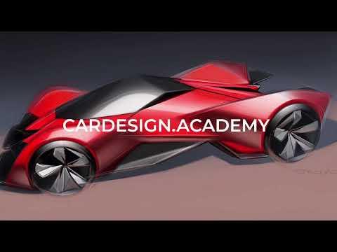 Learn Car Design with CARDESIGN.ACADEMY!