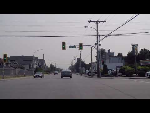Life in Richmond BC (British Columbia) Canada - Houses & Residential Area on Williams Road (видео)