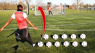THIS IS THE BEST SHOOTING FOOTBALL CHALLENGE SEEN ON YOUTUBE!! 😱⚽️