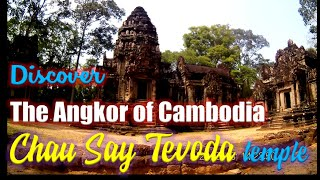 preview picture of video 'Exploring the Angkor Temple Complex, Cambodia: Chau Say Tevoda temple'