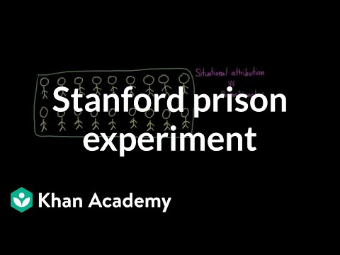 A closer look at the Stanford prison experiment (video) | Khan Academy