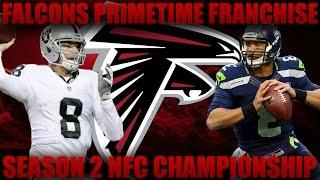 Madden 17 Falcons Franchise | Primetime League Season 2 Nfc Championship vs Cookieboy17!