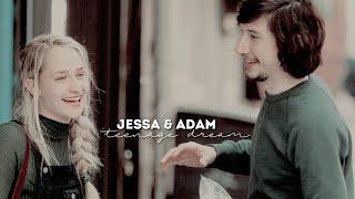 teenage dream | jessa & adam; girls