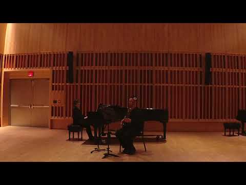 A performance of Mozart's Bassoon Concerto K 191 (Mvt 2): featuring bassoonist Carl Gardner, and pianist Bethany Pietroniro.