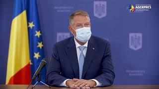 Conferință de presă susținută de președintele Klaus Iohannis