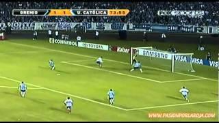 Los 3 Goles De Universidad Católica Vs Gremio (Lucas Prato X 2 & Milovan Petar Mirosevic Albornoz