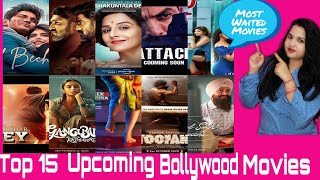 Top upcoming 15 Bollywood movies July to December 2020