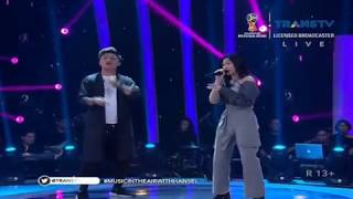Isyana Sarasvati Ft Rizky Febian - Terpesona ( Music Video )