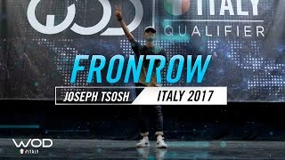 Joseph Tosh | FrontRow | World of Dance Italy Qualifier 2017 | #WODIT17