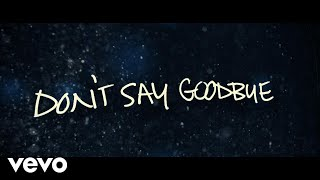 Aaron Carter - Don't Say Goodbye (Lyric)