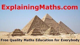 Understand Angles Of Elevation And Depression - ExplainingMaths.com IGCSE And GCSE Maths