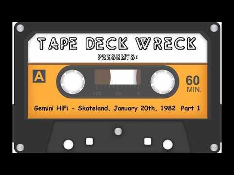 Gemini HiFi – Skateland January 20th 1982 Part 1