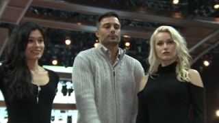 Grammys add 1st man, transgender woman as trophy presenters