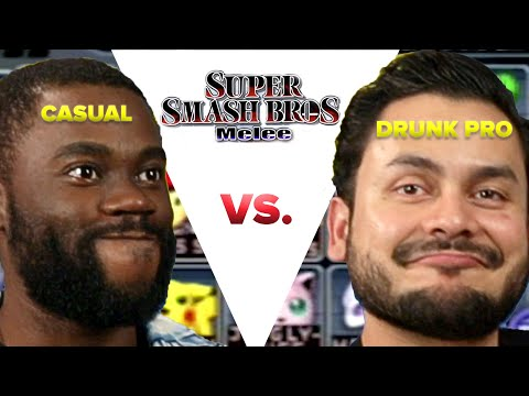 Casual VS Drunk Pro – Super Smash Bros Melee