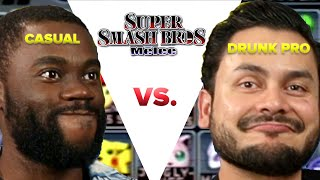 Casual VS Drunk Pro - Super Smash Bros Melee - dooclip.me