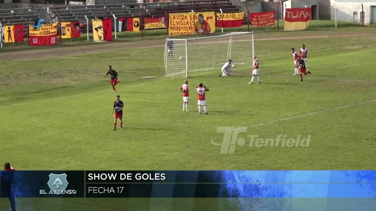 2a División | Show de goles de la 17a fecha