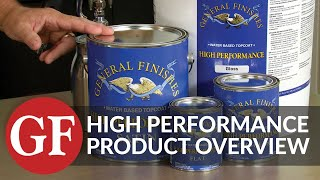 Award-Winning High Performance Water-Based Topcoat | Product Overview | General Finishes
