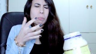 VReacción: Espinilla gigante (comiendo mayonesa) D: