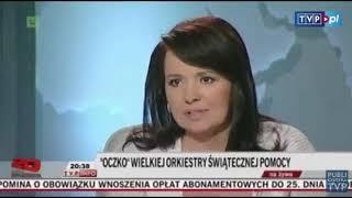 Danuta Holecka chwali Jurka Owsiaka za WOŚP.