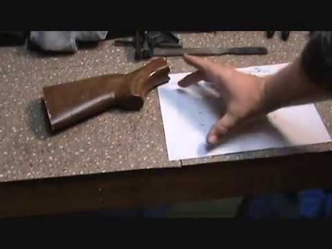 Swap Buttpads - Shaping a Pachmayr Decelerator for a Boyds