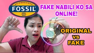 FAKE NABILI KONG FOSSIL WATCH! / ORINAL Vs. FAKE - PINACHECK KO SA FOSSIL STORE