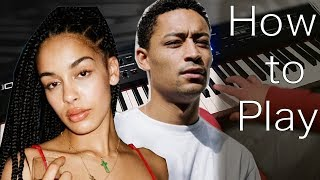 "Quickly Learn ""Loose Ends"" By Loyle Carner Ft. Jorja Smith On Piano"