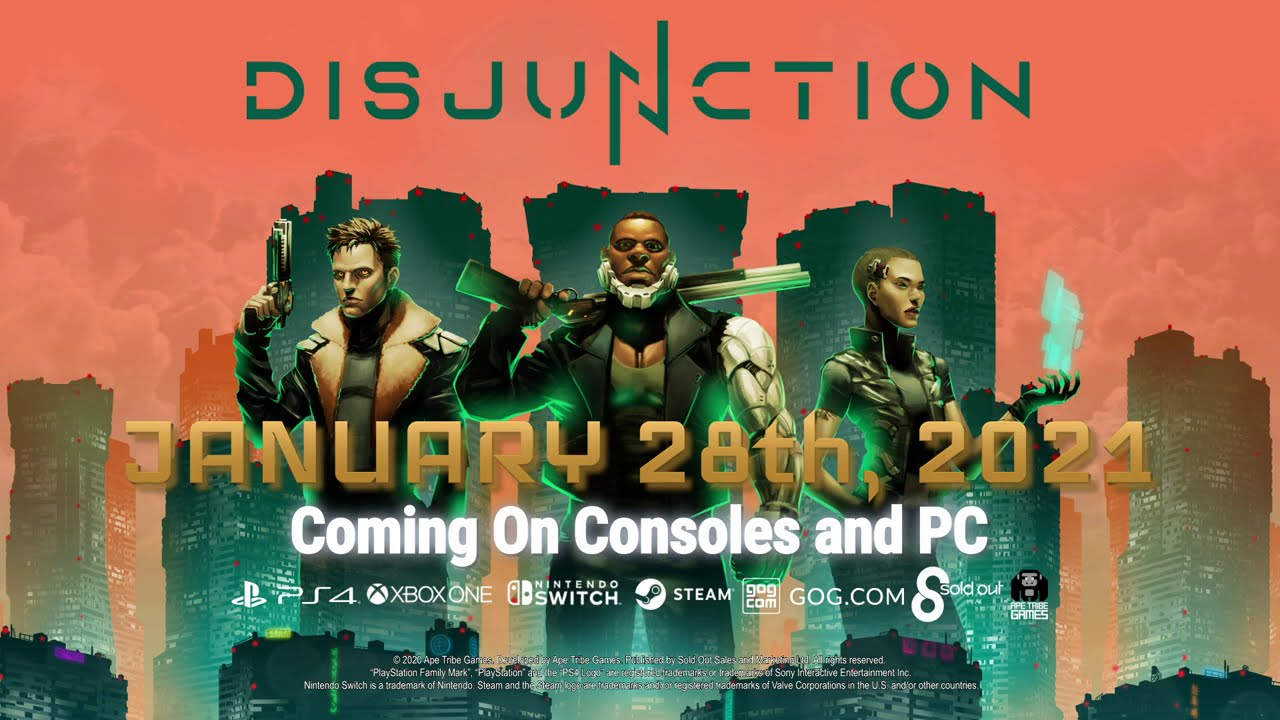 Геймплейный трейлер игры Disjunction